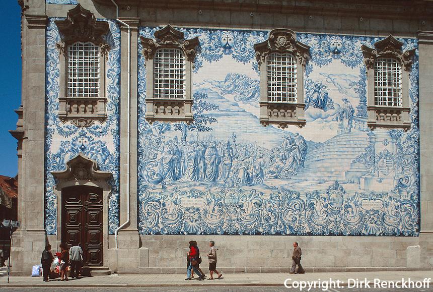 Portugal, Karmeliterkirche in Porto