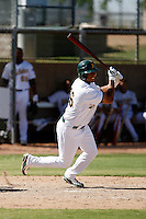 Tyler Ladendorf - Oakland Athletics 2009 Instructional League. .Photo by:  Bill Mitchell/Four Seam Images..