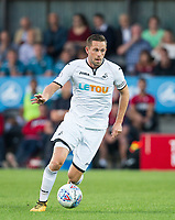 Gylfi Sigurosson of Swansea City during the 2017/18 Pre Season Friendly match between Barnet and Swansea City at The Hive, London, England on 12 July 2017. Photo by Andy Rowland.