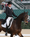 April 24, 2014: Pawlow and Will Faudree. finish 2nd on the first day of Dressage at the Rolex Three Day Event in Lexington, KY at the Kentucky Horse Park.  Candice Chavez/ESW/CSM