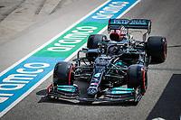 16th April 2021; Autodromo Enzo and Dino Ferrari, Imola, Italy; F1 Grand Prix of Emilia Romagna, Free Practise sessions;  44 HAMILTON Lewis (gbr), Mercedes AMG F1 GP W12 E Performance
