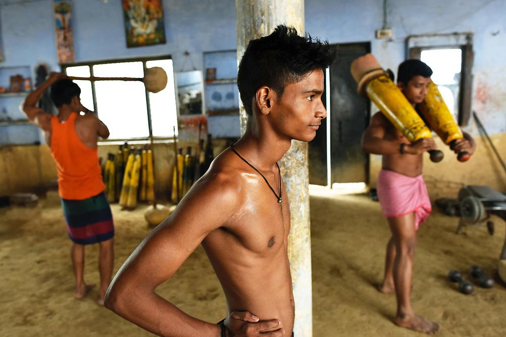 Kushti Wrestlers of Varanasi