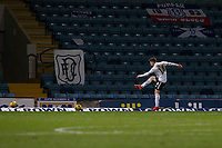 16th March 2021; Dens Park, Dundee, Scotland; Scottish Championship Football, Dundee FC versus Ayr United; Cammy Smith of Ayr United shoots and scores for 2-0 in the 59th minute