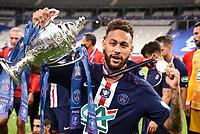 Esultanza Neymar Jr Coppa <br /> Paris 24/07/2020 Stade de France <br /> Calcio Finale Coppa di Francia <br /> Paris Saint Germain vs Saint Etienne <br /> Photo Federico Pestellini/Panoramic/insidefoto <br /> ITALY ONLY