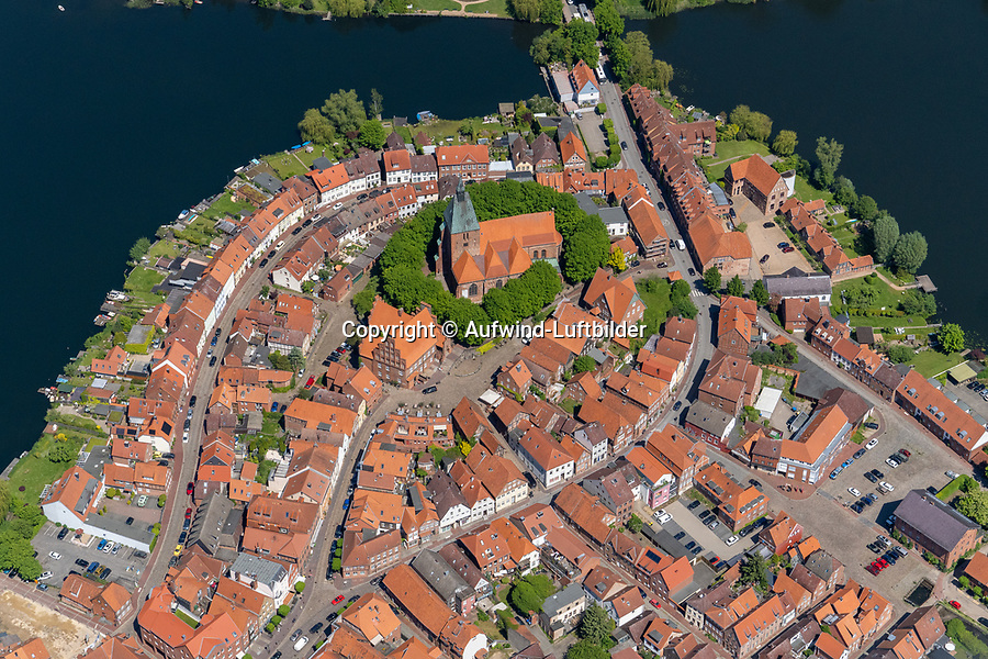 Mölln Stadtzentrum, Eulenspiegel, Kirche, Marktplatz, See, historisch