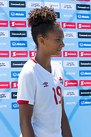 Bradenton, FL - Sunday, June 12, 2018: Jade Rose prior to a U-17 Women's Championship 3rd place match between Canada and Haiti at IMG Academy. Canada defeated Haiti 2-1.