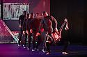 Boy Blue Entertainment perform THE FIVE AND THE PROPHECY OF PRANA at the Barbican theatre. Dancers are: Michele 'Paleta' Rhyner, Bradley 'Bradz' Charles, Theo 'Godson' Oloyade, Kofi 'Klik' Mingo, Xena Gusthart, Vicky 'Skytilz' Mantey, Duwane Taylor, Kayla Lomas-Kirton, shaun Smith, Hakim Saber and Jumar Aben. Picture shows: Michele 'Paleta' Rhyner (Soo Lin). Photograph © Jane Hobson.