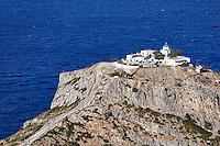 The monastery Panagia Kastriani in Kea, Greece