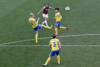 Kenza Dali of West Ham goes close during West Ham United Women vs Brighton & Hove Albion Women, Barclays FA Women's Super League Football at the Chigwell Construction Stadium on 15th November 2020