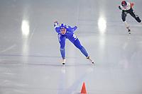 SPEEDSKATING: HEERENVEEN: 16-01-2021, IJsstadion Thialf, ISU European Speed Skating Championships, Francesca Lollobrigida (ITA), ©photo Martin de Jong