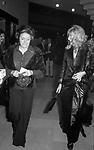 MONICA VITTI CON LA MADRE<br /> TEATRO SISTINA <br /> ROMA 1974