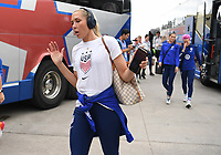 Saint Paul, MN - SEPTEMBER 03: Allie Long #20 of the United States during their 2019 Victory Tour match versus Portugal at Allianz Field, on September 03, 2019 in Saint Paul, Minnesota.