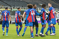 2nd February 2021; St James Park, Newcastle, Tyne and Wear, England; English Premier League Football, Newcastle United versus Crystal Palace; Jairo Riedewald of Crystal Palace  Celebrates scoring Crystal Palace 1st goal for 1-1 in the 21st minute with team mates,