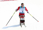 Pyeongchang, Korea, 14/3/2018-Chris Klebl competes in the cross country sprints during the 2018 Paralympic Games in PyeongChang. Photo Scott Grant/Canadian Paralympic Committee.