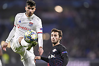 07 MARTIN TERRIER (OL) - 03 MARCELO SARACCHI (LEI)<br /> Lione 10-12-2019 <br /> Lyon vs Leipzig <br /> Champions League 2019/2020<br /> Photo Anthony Bibard / Panoramic / Insidefoto <br /> Italy Only