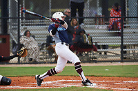 Michael Bello (11) of Oak Ridge, New Jersey during the Baseball Factory All-America Pre-Season Rookie Tournament, powered by Under Armour, on January 13, 2018 at Lake Myrtle Sports Complex in Auburndale, Florida.  (Michael Johnson/Four Seam Images)