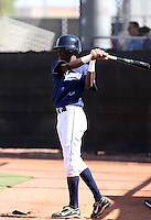 Alvaro Aristy / San Diego Padres 2008 Instructional League..Photo by:  Bill Mitchell/Four Seam Images