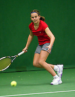 05-12-10, Tennis, Almere, Reaal WJC Masters, Tess van Dinteren