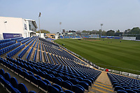 General view of the ground ahead of Glamorgan vs Essex Eagles, Royal London One-Day Cup Cricket at the Sophia Gardens Cardiff on 17th April 2019