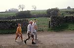 Bellerby Feast,  Bellerby Yorkshire UK. 1980s