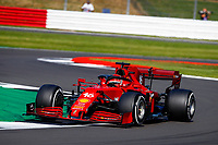 16 LECLERC Charles (mco), Scuderia Ferrari SF21, action during the Formula 1 Pirelli British Grand Prix 2021, 10th round of the 2021 FIA Formula One World Championship from July 16 to 18, 2021 on the Silverstone Circuit, in Silverstone, United Kingdom - <br /> Formula 1 GP Great Britain Silverstone 18/07/2021<br /> Photo DPPI/Panoramic/Insidefoto <br /> ITALY ONLY
