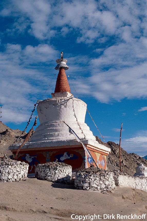 Indien, Ladakh (Jammu+Kashmir), Stupa  in Leh