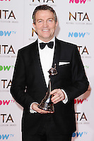 Bradley Walsh<br /> in the winners room at the National TV Awards 2017 held at the O2 Arena, Greenwich, London.<br /> <br /> <br /> ©Ash Knotek  D3221  25/01/2017