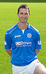 St Johnstone FC 2014-2015 Season Photocall..15.08.14<br /> Gary McDonald<br /> Picture by Graeme Hart.<br /> Copyright Perthshire Picture Agency<br /> Tel: 01738 623350  Mobile: 07990 594431