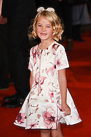 """Florence Clery<br /> at the premiere of """"The Light Between Oceans"""" at the Curzon Mayfair, London.<br /> <br /> <br /> ©Ash Knotek  D3184  19/10/2016"""