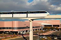 Monorail at the Convention Las Vegas, Nevada.