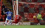 06.02.2019: Aberdeen v Rangers: Alfredo Morelos scores his first goal