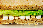 Prescription drug problems, durg sandwich..  Home made bread.