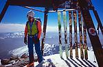 Summit of Djebel Toubkal (4167 m), High Atlas, Morocco, 2017