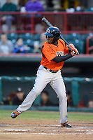Bowie Baysox outfielder Xavier Avery #3 during a game against the Erie Seawolves on April 23, 2013 at Jerry Uht Park in Erie, Pennsylvania.  Erie defeated Bowie 4-1.  (Mike Janes/Four Seam Images)