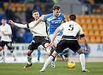 St Johnstone v Inverness Caley Thistle…03.12.16   McDiarmid Park..     SPFL<br />Liam Craig holds off Iain Vigurs<br />Picture by Graeme Hart.<br />Copyright Perthshire Picture Agency<br />Tel: 01738 623350  Mobile: 07990 594431