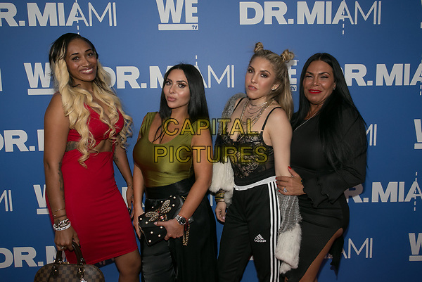 NORTH MIAMI BEACH, FL - MARCH 30: Guest and Renee Graziano during the Dr. Miami Premiere Party at The Tuck Room in North Miami Beach. March 30, 2017.<br /> CAP/MPI/AG<br /> ©AG/MPI/Capital Pictures