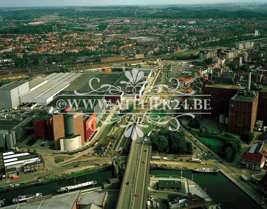 Oktober 1999. Brouwerij van Stella Artois in Leuven.
