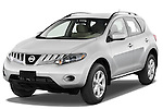 Front three quarter view of a 2009 Nissan Murano.