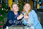 Enjoying the reopening of the Brogue Inn on Thursday, l to r: Bernie and Imelda O'Sullivan.