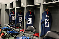 Cary, N.C. - Tuesday March 27, 2018: USMNT locker room during an International friendly game between the men's national teams of the United States (USA) and Paraguay (PAR) at Sahlen's Stadium at WakeMed Soccer Park.