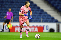 22nd April 2021; Dragao Stadium, Porto, Portugal; Portuguese Championship 2020/2021, FC Porto versus Vitoria de Guimaraes; Agustin Marchesin of FC Porto looks to play the  ball out long