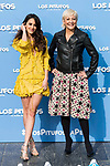 """Macarena Garcia and Eva Hache attends to the presentation of the film """"Ls Pitufos"""" in Madrid. March 14, 2017. (ALTERPHOTOS/Borja B.Hojas)"""