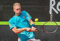 Rotterdam, Netherlands, August 22, 2017, Rotterdam Open, Frederik Press (GER)<br /> Photo: Tennisimages/Henk Koster
