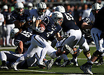 Nevada runningback Kendall Brock runs against BYU during an NCAA college football game in Reno, Nev., on Saturday, Nov. 30, 2013. (AP Photo/Cathleen Allison)
