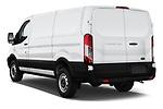 Car pictures of rear three quarter view of a 2019 Ford Transit Van 250 LR 4 Door Cargo Van angular rear