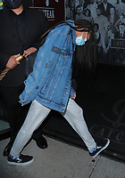 Willow Smith Hides when walking Into Catch In Hollywood
