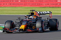 16th July 2021; Silverstone Circuit, Silverstone, Northamptonshire, England; Formula One British Grand Prix,  and Qualifying; Red Bull Racing Honda driver Max Verstappen in his Red Bull Racing RB16B Honda RA621H