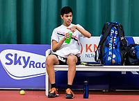 Wateringen, The Netherlands, March 14, 2018,  De Rhijenhof , NOJK 14/18 years, Christopher Lam (NED)<br /> Photo: www.tennisimages.com/Henk Koster