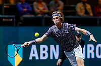 Rotterdam, The Netherlands, 14 Februari 2020, ABNAMRO World Tennis Tournament, Ahoy, Andrey Rublev (RUS)<br /> Photo: www.tennisimages.com