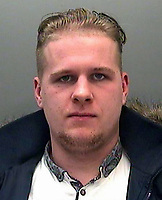 2017 04 12 Dean Collins jailed by Cardiff Crown Court, Wales, UK